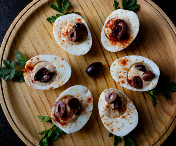Hummus-Filled Eggs Recipe   BeachbodyBlog.com