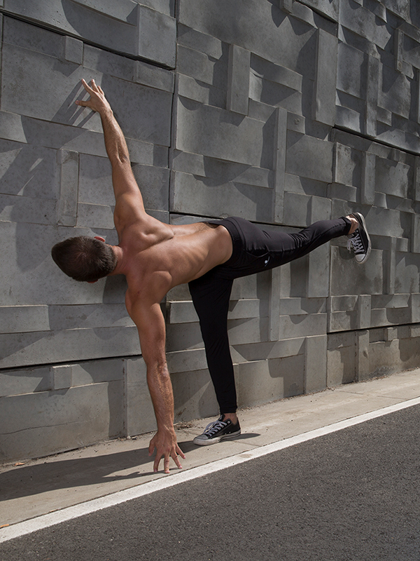 5 Standing Poses for Core Strength - Twisting Half Moon