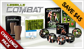 LES MILLS COMBAT and Shakeology Challenge Pack