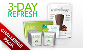 3-Day Refresh and Shakeology Challenge Pack