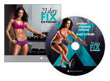21 Day Fix Extreme Ultimate Workout DVD