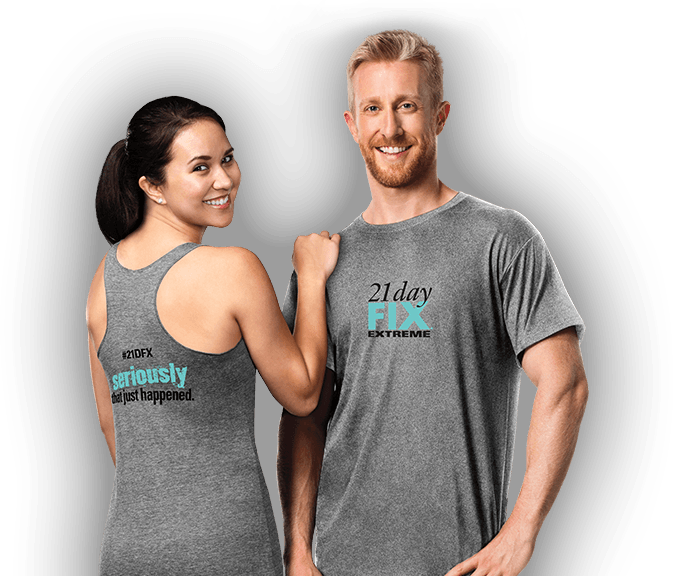 WANT A FREE 21 DAY FIX EXTREME SHIRT