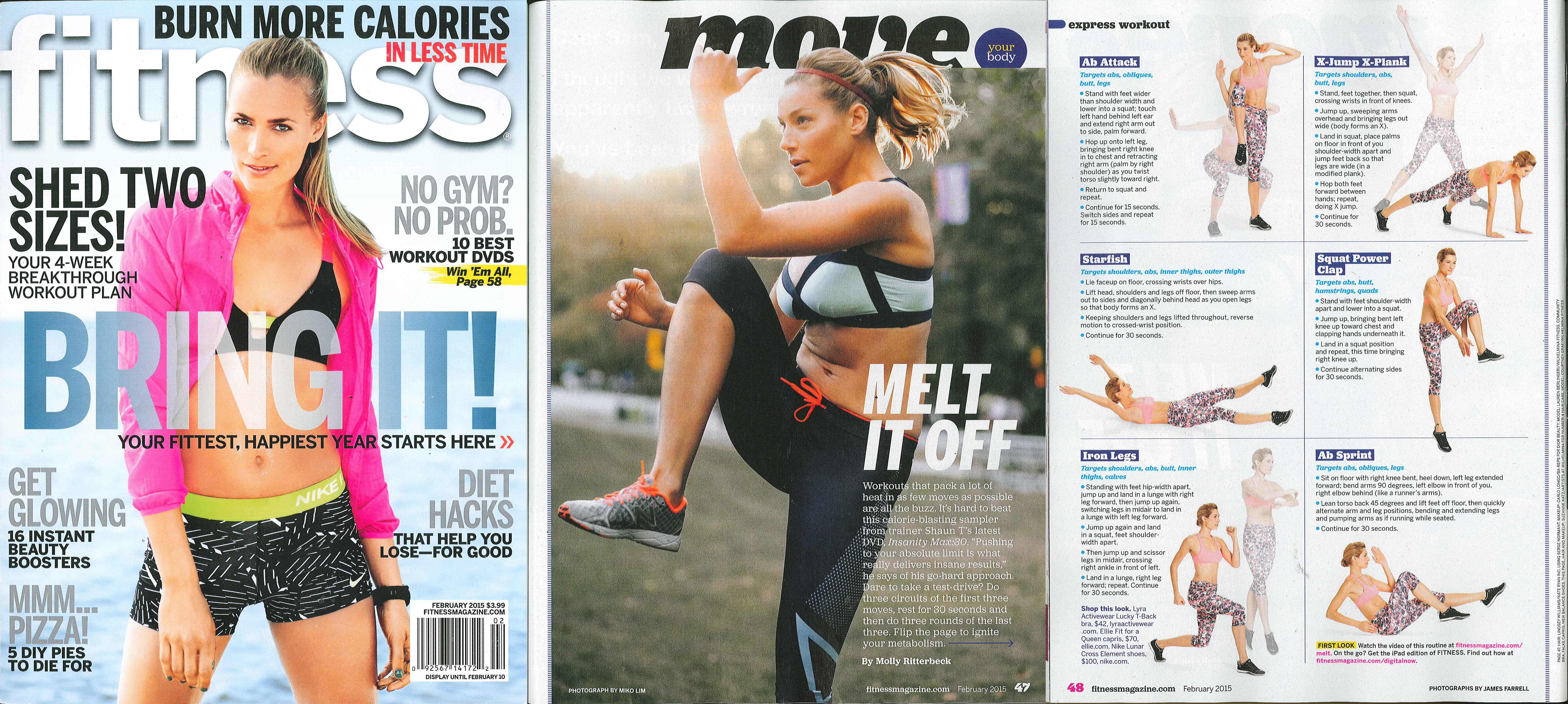 Profile picture for fitness on request - Fitness Magazine February 2015
