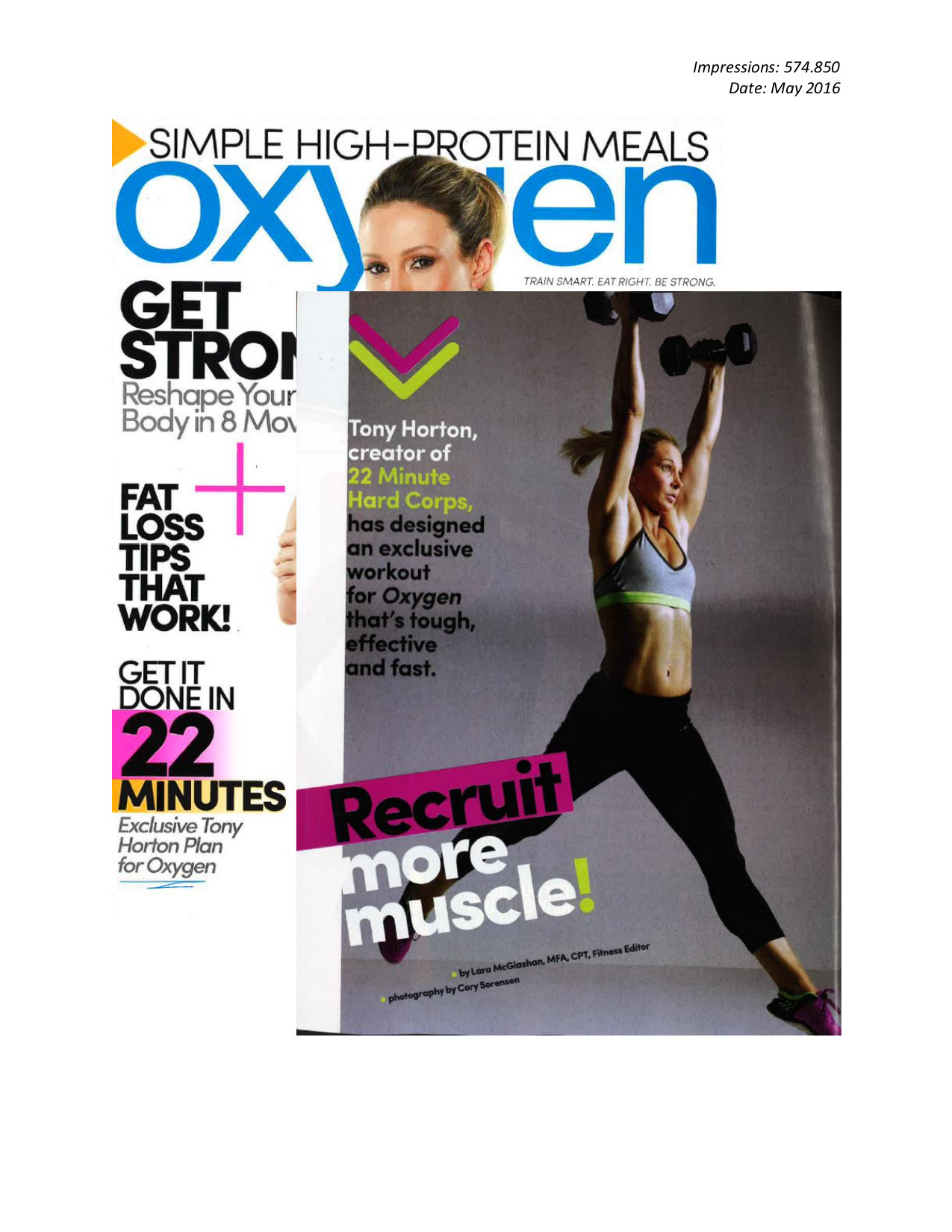 Oxygen, May 2016