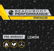 Pre-workout. Lemon flavor.