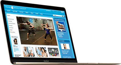 Fitness Tools on Laptop Image