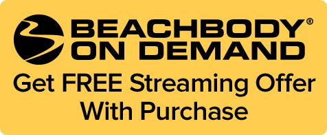 Beachbody on demand. Get free streaming offer with purchase.