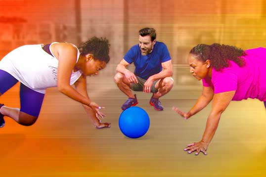 Beachbody Squishy Ball Exercises : Double Time - Family Fitness Workouts on Beachbody.com