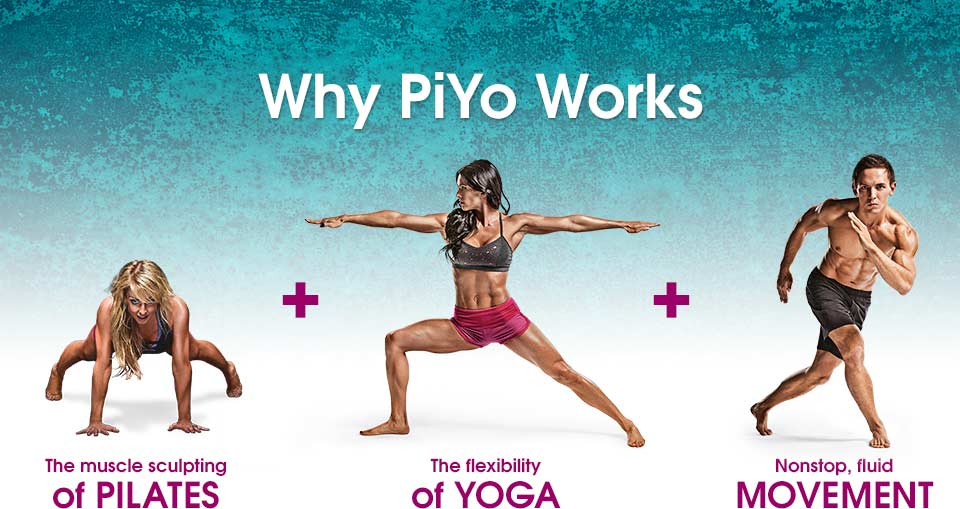 PiYo Workout DVDs No Weights No Jumps Just Hardcore Results