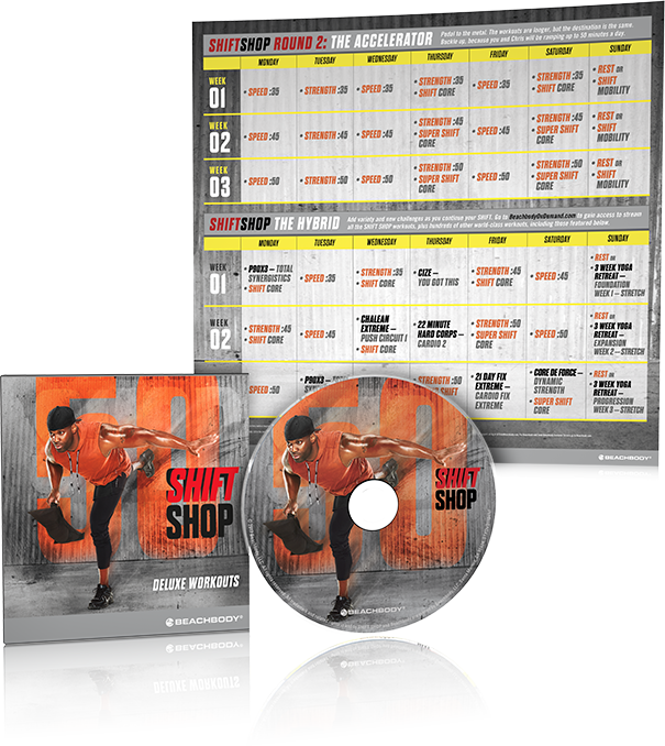 Shift Shop DVD Kit