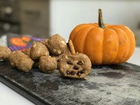 Shakeology Jack-O-Lantern Protein Balls are SCARY Good