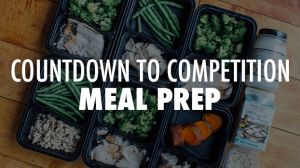 21 Day Fix Countdown To Competition Meal Plan The