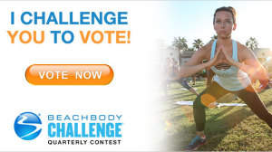 Beachbody Challenge Quarterly Voting - Q2