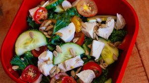 Kale and Chicken Salad