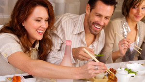 overeating on a date
