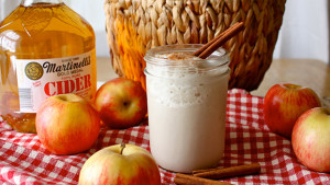 Cinnamon Apple Cider Smoothie