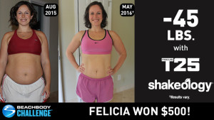 FOCUS T25 Results: This Mom of 3 Lost 45 Pounds and Won $500! | TeamBeachbody.com