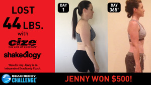 CIZE Results: Jenny Lost 44 Pounds and Won $500