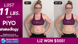 PiYo Results: Liz Got Lean in 60 Days!