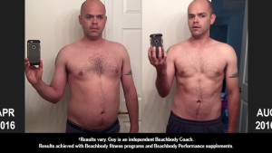 INSANITY MAX:30 Results: Guy Lost 29 Pounds in 4 Months!