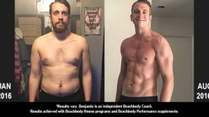 P90X3 Results: This Former College Athlete Lost 38 Pounds!
