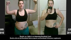 PiYo Results: Ashley Lost 31 Pounds and Won $500!