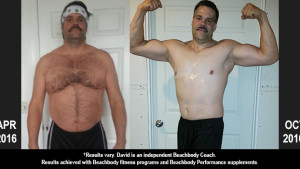 Body Beast Results: David Lost 21 Pounds in 2 Rounds