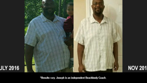 CIZE Results: Joseph Lost 65 Pounds