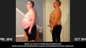"""21 Day Fix Results: Darcy Lost 71 Pounds and Over 6"""" Off His Waist"""