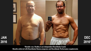 Body Beast Results: Bradley Lost 50 Pounds!