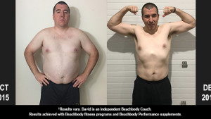 INSANITY MAX:30 Results: David Lost 50 Pounds!