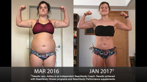 Beachbody Results: Ashley Lost 63 Pounds!