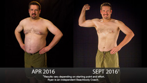 21 Day Fix Results: Ryan Lost 50 Pounds