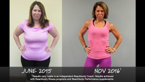 Beachbody Results: Leslie Lost 69 Pounds