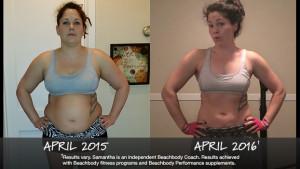 Beachbody Results: Samantha Lost 53 Pounds!
