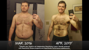 Beachbody Results: Daniel Lost 61 Pounds and Won $1,000!