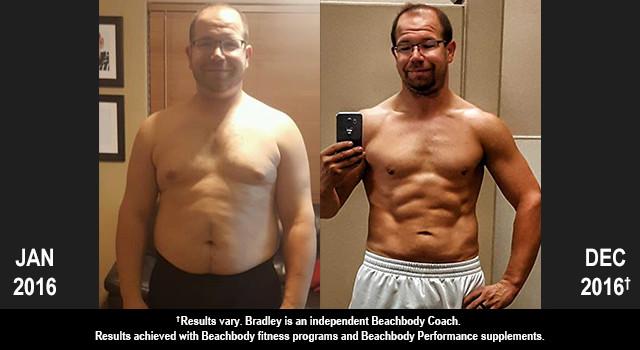 Body Beast Results: Bradley Lost 50 Pounds!
