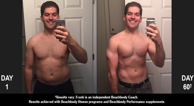 INSANITY MAX:30 Results: Frank Lost 26 Pounds in Just 60 Days!