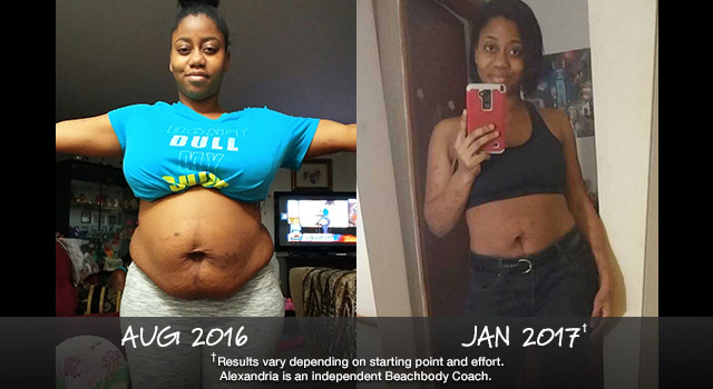 21 Day Fix Results: Alexandria Lost 36 Pounds
