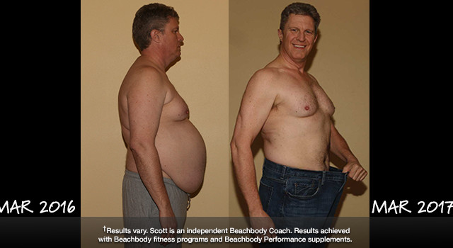 21 Day Fix Results: Scott Lost 52.2 Pounds and Won $1,000
