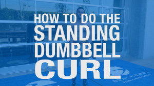 how to do a standing bicep curl