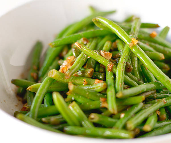 ... Chinese-inspired green beans make a delicious side. Get the recipe