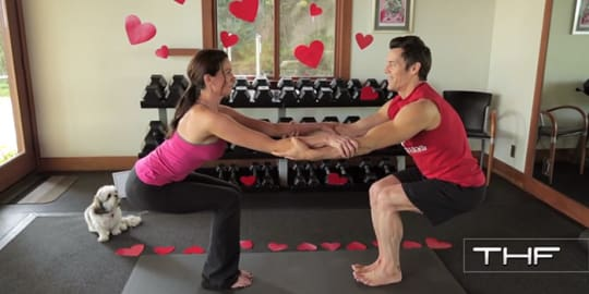 Valentine's Day Partner Yoga with Tony Horton