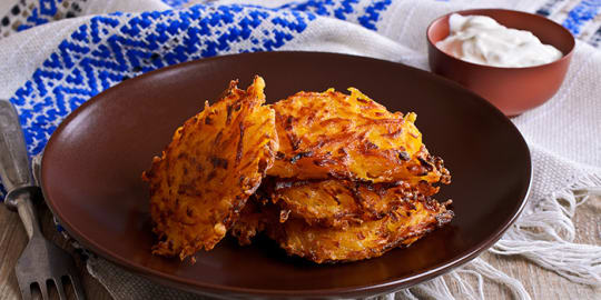 Sweet Potato Latkes | BeachbodyBlog.com
