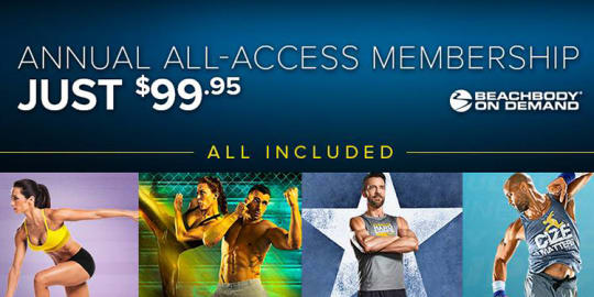 Beachbody On Demand Annual All Access Membership