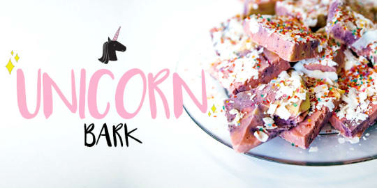 Unicorn Bark