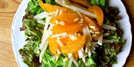 Jicama makes this sunny, citrus salad crunchy and really filling! We ...