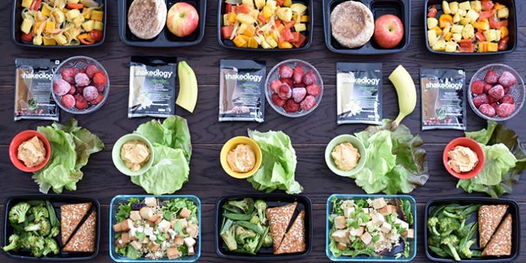 Vegetarian Meal Prep For Those Eating 1,500-1,800 Calories ...