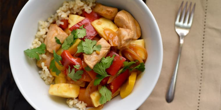 Chinese Food Sweet And Sour Chicken Nutrition Facts