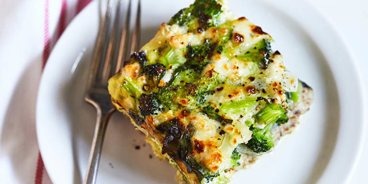 Spinach and Broccoli Strata | The Beachbody Blog